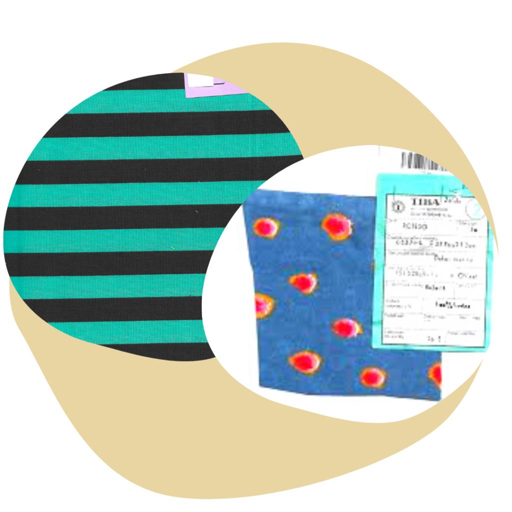 Collection Arlequin des tapis d'acupression Igla upcyclés et brevetés