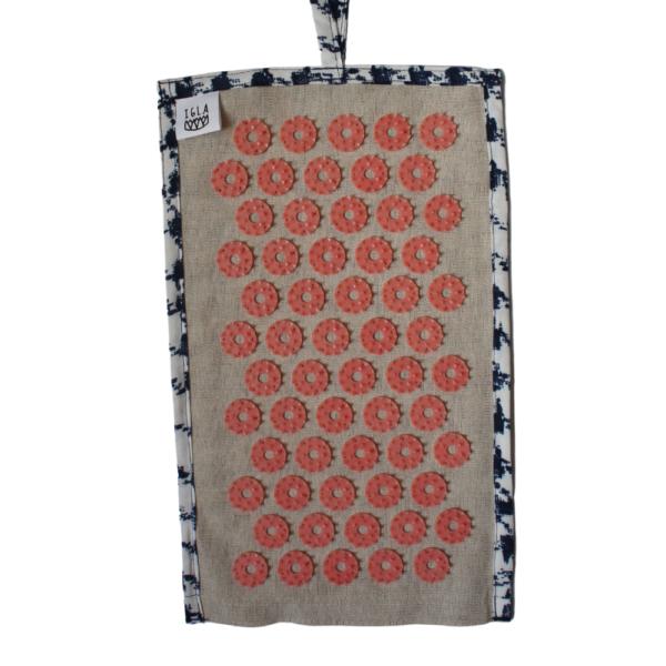 Mini Printemps #1 devant tissus tapis d'acupression Igla