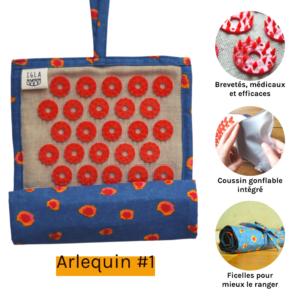Mini tapis d'acupression Arlequin #1
