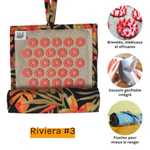 Mini Riviera 3 roule tapis d'acupression Igla